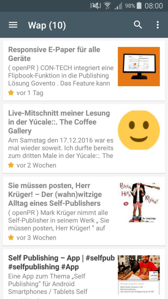 Self Publishing App