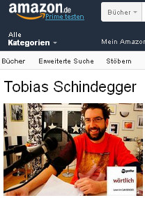 Tobias Schindegger Amazon Autorenseite